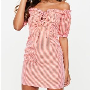 Missguided Gingham Dress